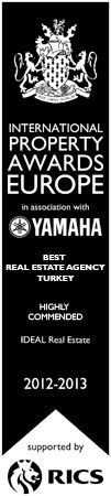 Highly commended - Real Estate Agency Turkey - IDEAL Real Estate Services